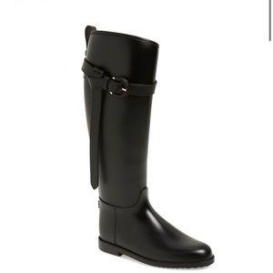 "Burberry ""Roscot"" waterproof riding boot"